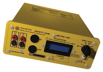Electrical Bond Resistance and Continuity Tester - Unit 1681B
