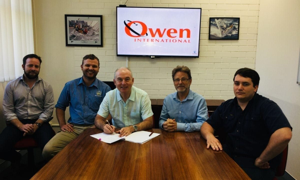 Aeronautical & General Instruments (AGI) Ltd and Owen International MOU signing