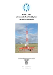 AGIMET - UWS - Technical Description