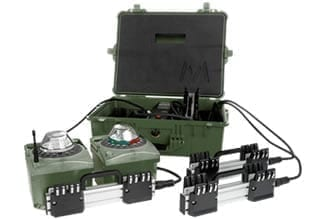 Battery Charger - LED - Military