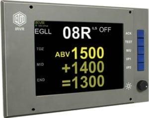 Aeronautical & General Instruments (AGI) Ltd Instrumented Runway Visual Range - Colour Display
