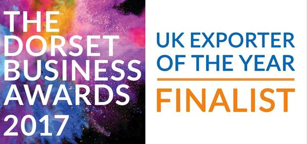 Dorset Business Awards 2017 Exporter of the Year Finalist