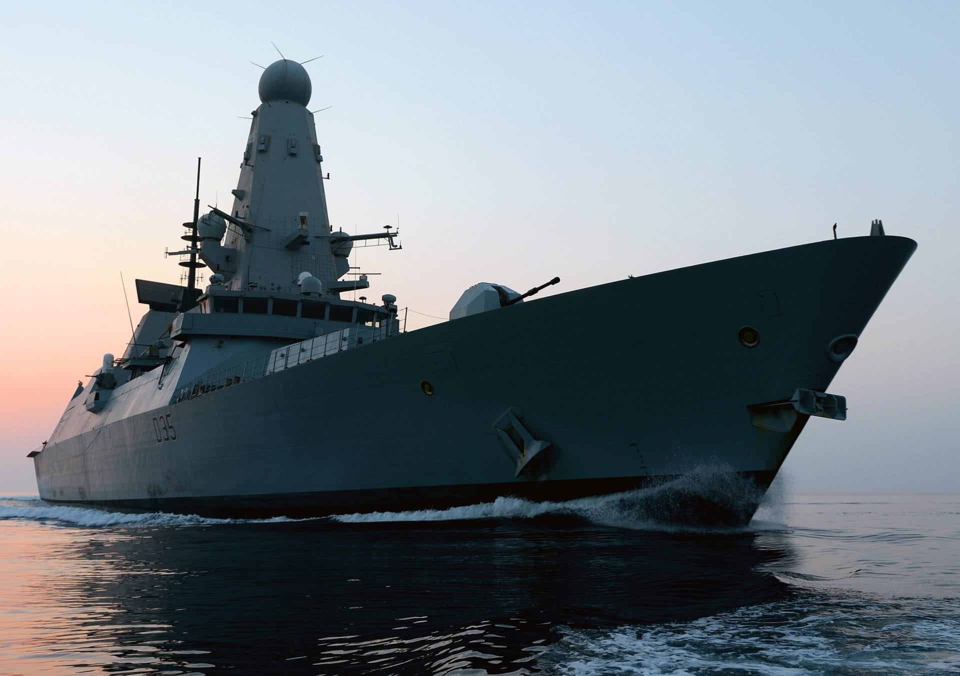 HMS Dragon ship