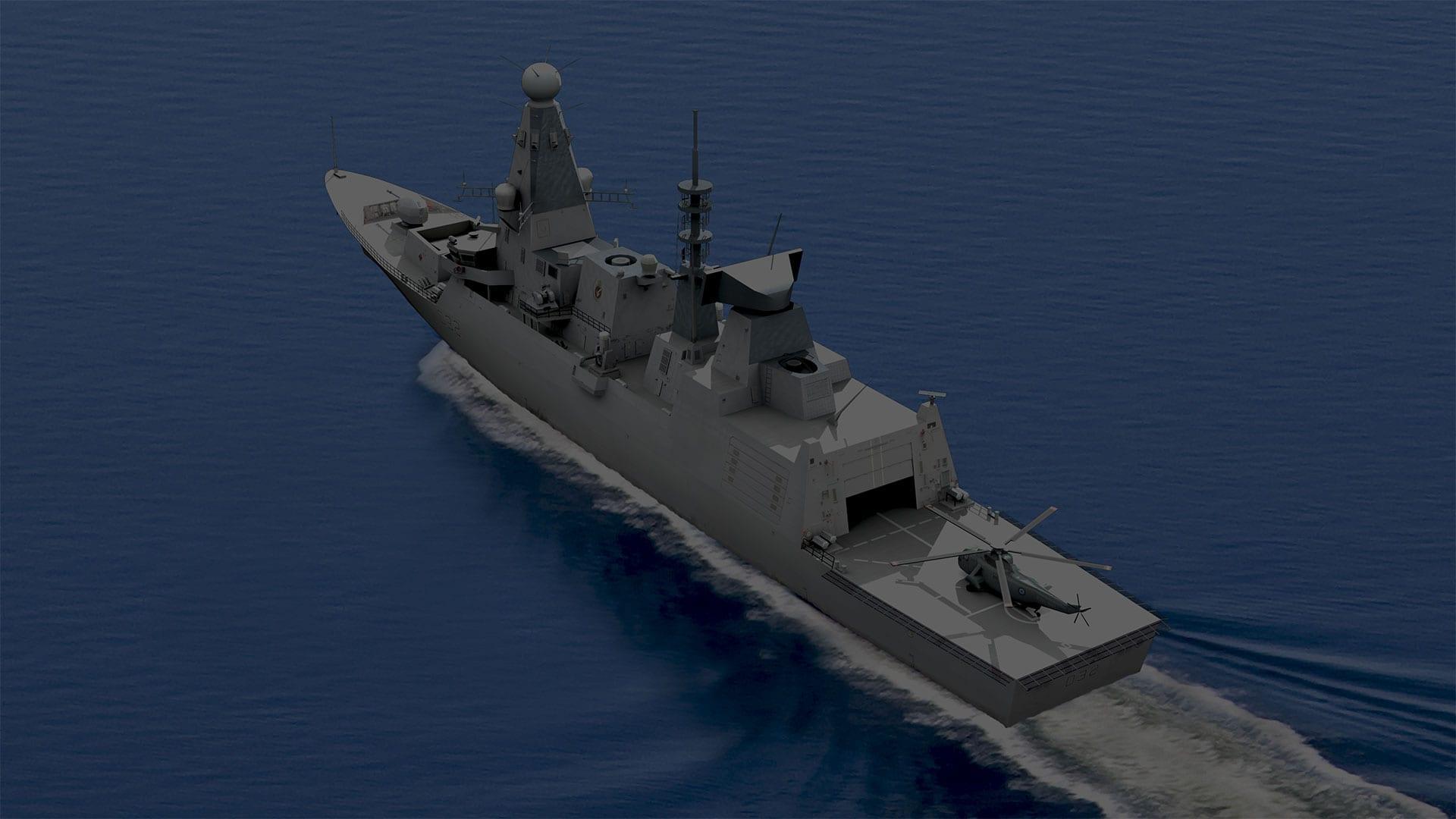 Type 45 Frigate
