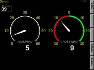Aeronautical & General Instruments (AGI) Ltd UWS Surface Wind - Colour Display