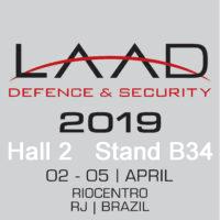 AGI exhibiting at LAAD Brazil in 2019