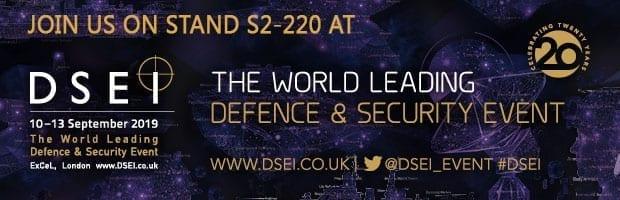 DSEI Exhibition banner 2019