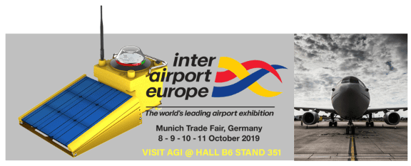 Inter Airport Europe Exhibition banner from 2019